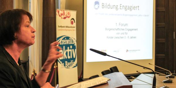 Grußwort Staatssekretärin Sigrid Klebba