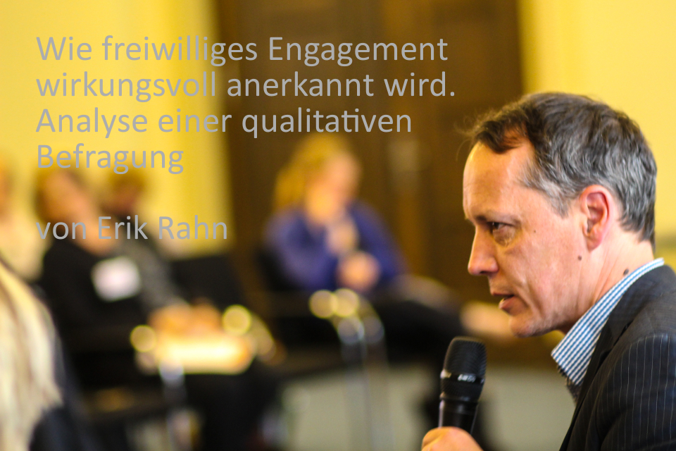 Engagement anerkennen
